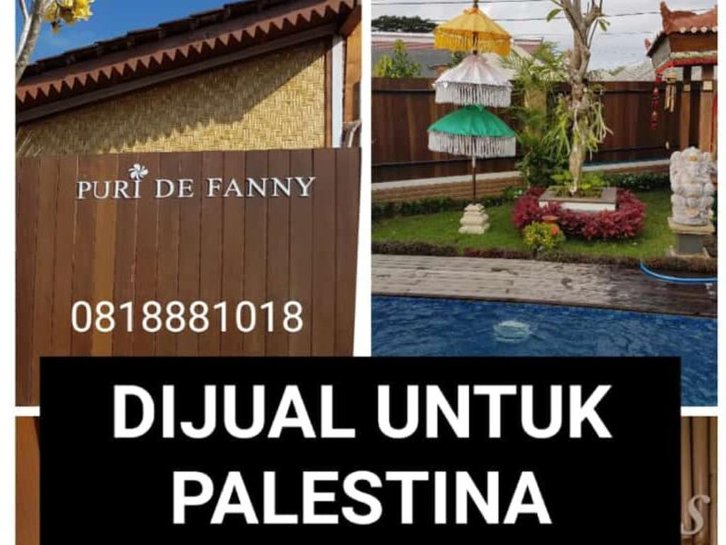 Soal Rumah di Banyuwangi yang Dijual untuk Bantu Warga Palestina