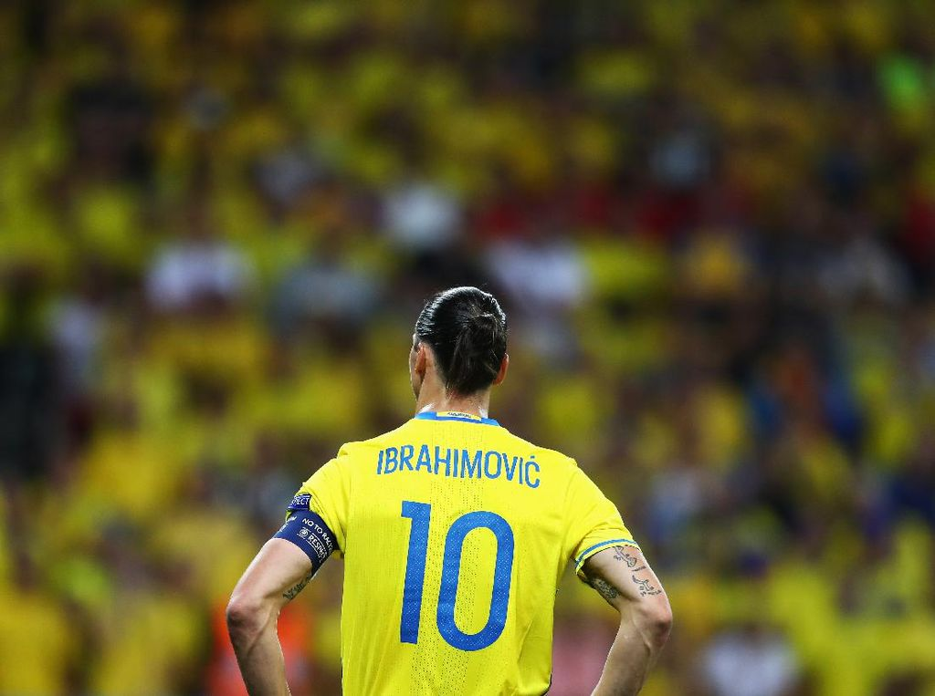 Cedera Lutut, Ibrahimovic Absen di Piala Eropa 2020