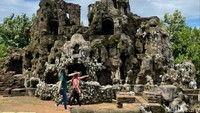 Lebaran Tetap Buka, Kunjungan Wisatawan Goa Sunyaragi Meningkat