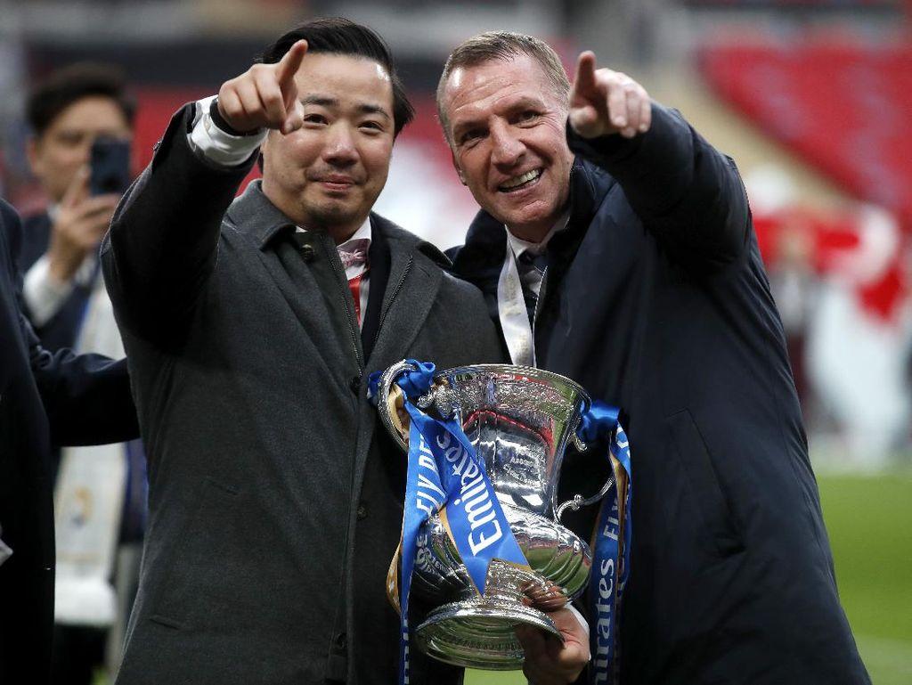 Leicester Juara Piala FA, Kado buat Top si Pemilik Klub