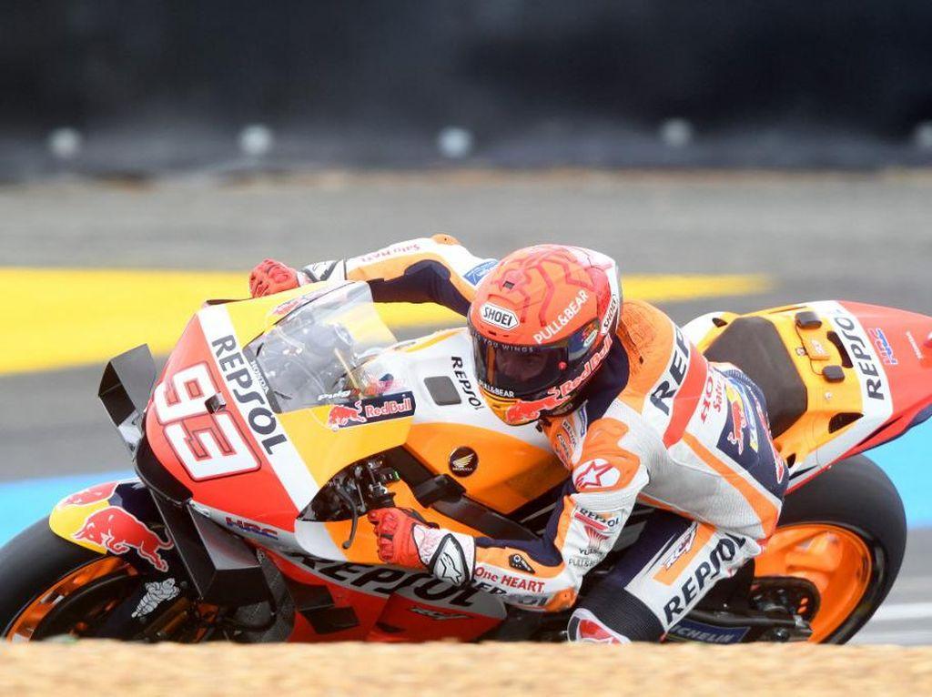 Tes MotoGP Catalunya: Marc Marquez Temukan Masalah di Motornya