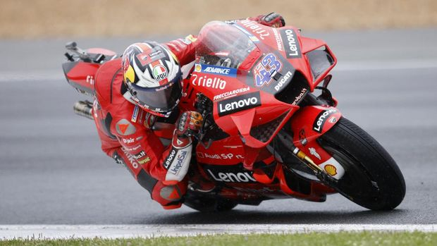 MotoGP - French Grand Prix - Circuit Bugatti, Le Mans, France - May 16, 2021 Ducati Lenovo Team's Jack Miller in action during the MotoGP race REUTERS/Stephane Mahe