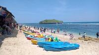 H+2 Lebaran, 38.325 Orang Kunjungi Pantai Selatan Gunungkidul