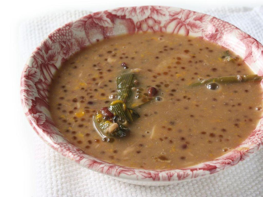 Resep Bubur Kacang Merah Jahe untuk Sarapan Hangat