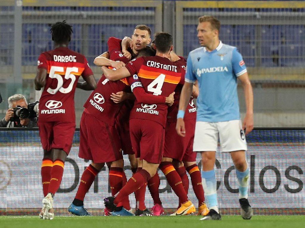 Roma Vs Lazio: 10 Fakta Kemenangan Serigala Ibu Kota