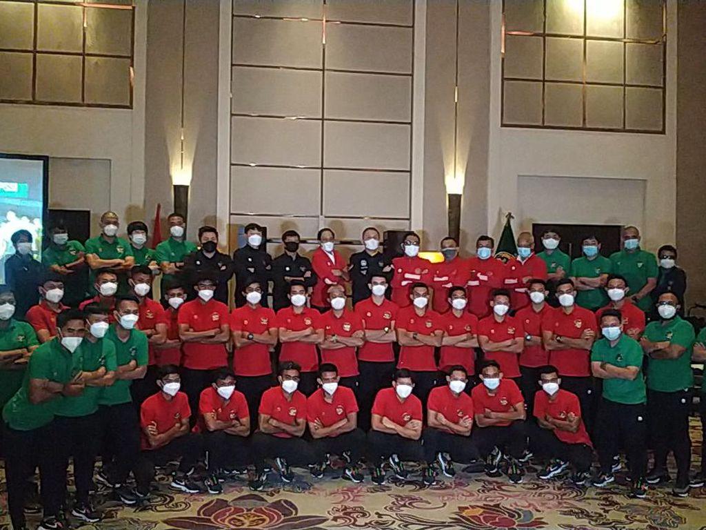 PSSI Lepas Timnas Indonesia Berangkat ke Dubai