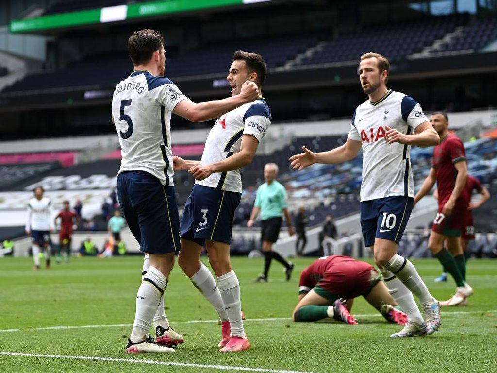 Tottenham Kembali Beraroma Menyerang