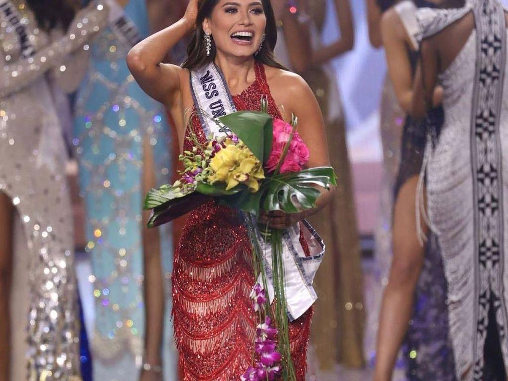 Curhat Andrea Meza yang Tak Punya Pekerjaan Sebelum Menang Miss Universe 2020
