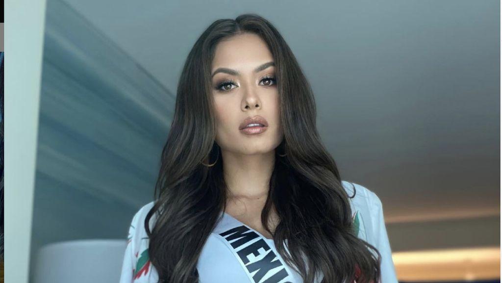 10 Foto Andrea Meza, Sarjana Komputer Cantik Juara Miss Universe 2020