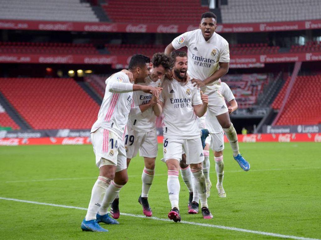 Athletic Bilbao Vs Real Madrid: El Real Menang 1-0