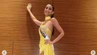 10 Foto Ayu Maulida, Pakai Kostum Komodo Hingga Top 21 Miss Universe 2020