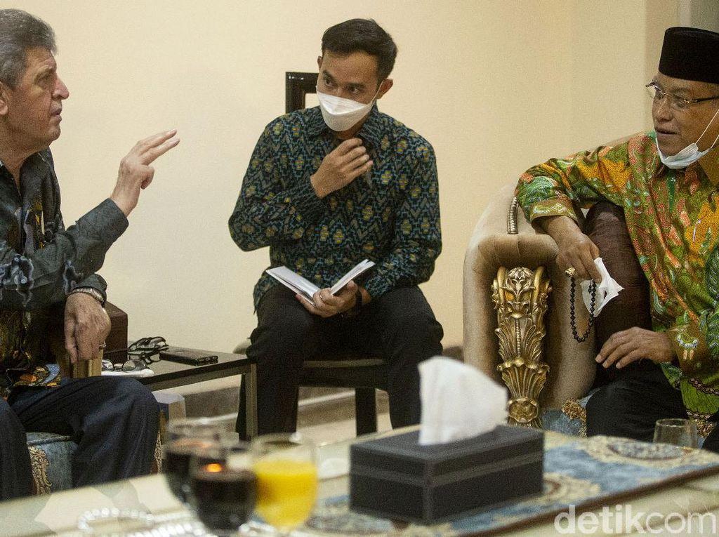 Bertemu Dubes Zuhair Al Shun, PBNU Beri Dukungan untuk Palestina