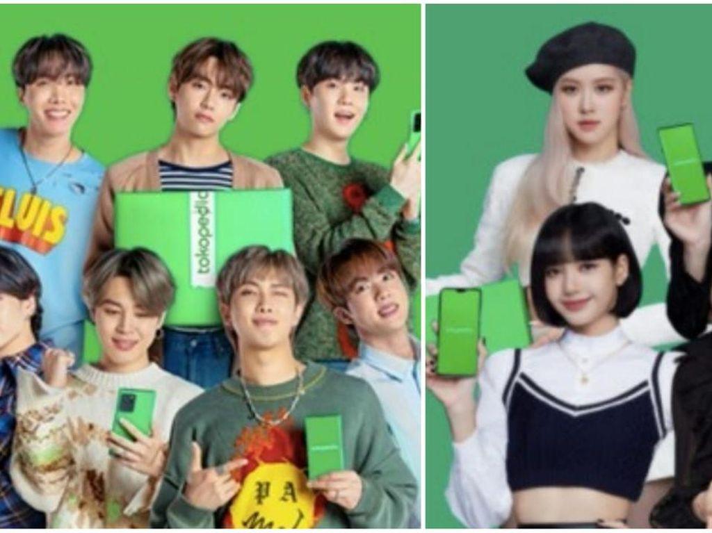 BTS dan Blackpink Ikut Gembira Sambut Kelahiran GoTo