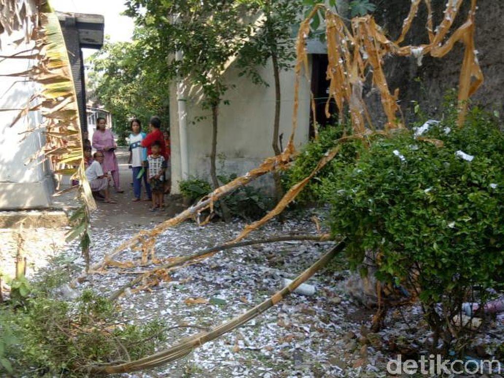 Balon Udara Bawa Petasan Meledak di Klaten, 1 Rumah Rusak