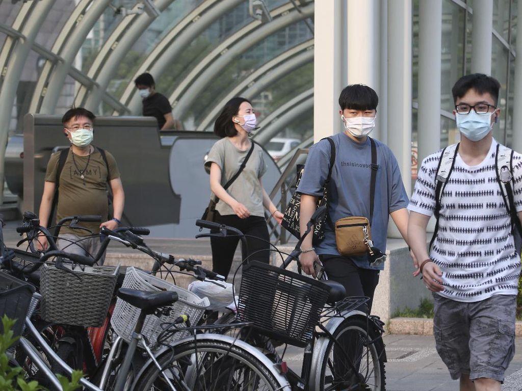 Taiwan Laporkan Infeksi Corona Tertinggi: Tambah 335 Kasus Baru