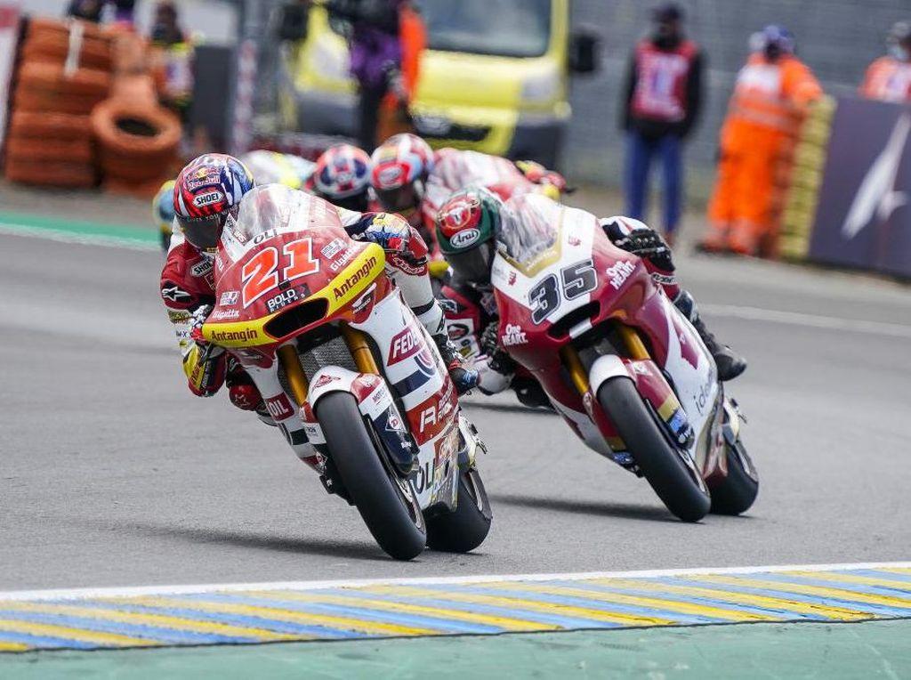 Hasil Tim Indonesia di Moto2 Catalunya: 1 Rider Raih 10 Poin