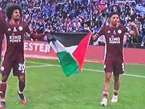 Pemain Leicester Bawa Bendera Palestina, Kena Sanksi atau Tidak?