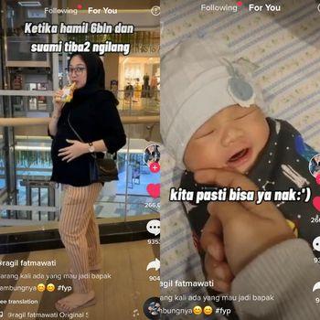 Kisah viral wanita yang hamil 6 bulan, suaminya tiba-tiba menghilang.