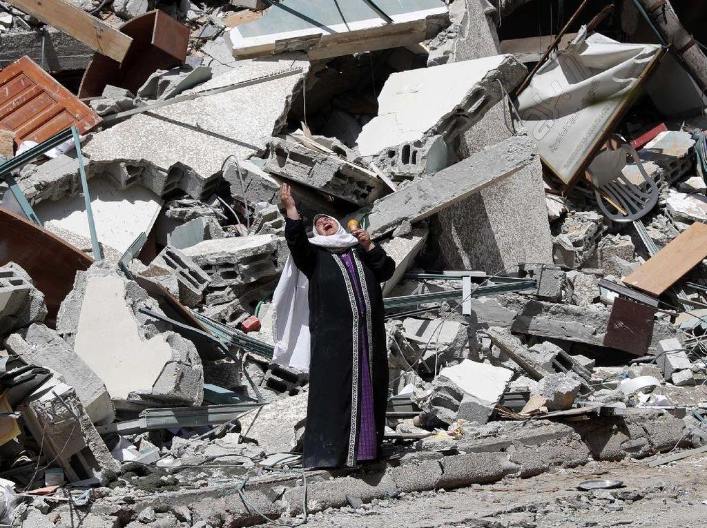 Korban Tewas Akibat Serangan Udara Israel Terus Berjatuhan