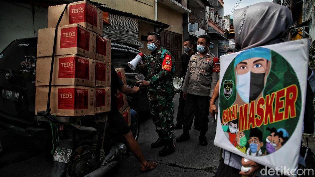 Lebaran Usai, Pemudik yang Tiba di Sunter Jakarta Utara Didata