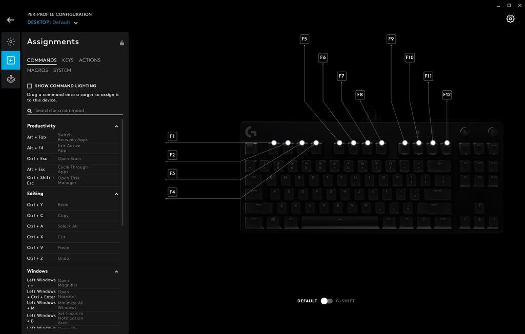 Logitech Keyboard G Pro X