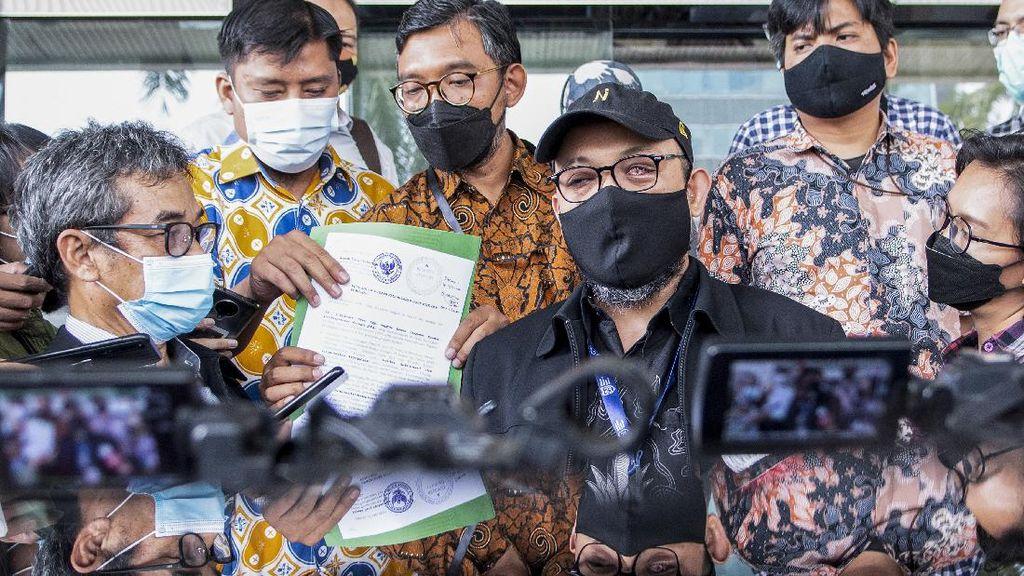 Novel Baswedan Cs Laporkan Anggota Dewas KPK Indriyanto Seno Adji