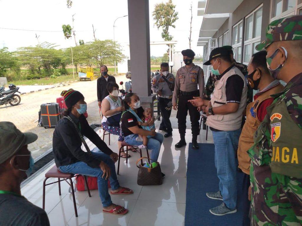190 TKI Pulang ke Lamongan, 23 Orang Masih Jalani Isolasi di Rusunawa