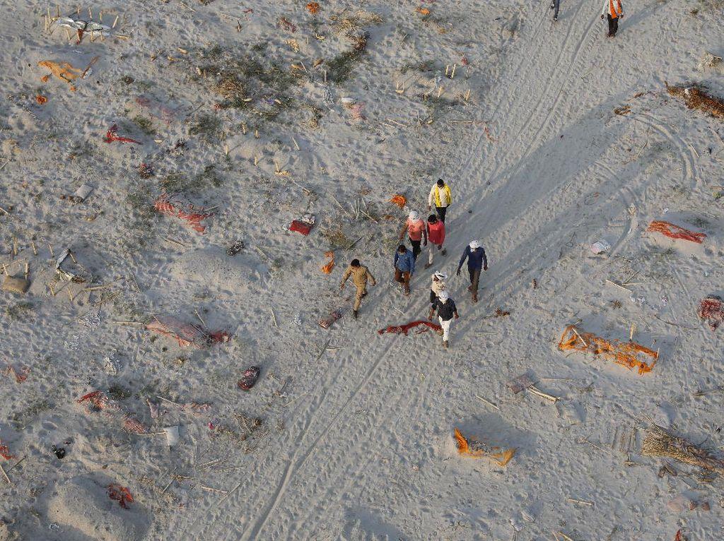 Ratusan Mayat Kembali Ditemukan di Sungai Gangga India, dari Mana?