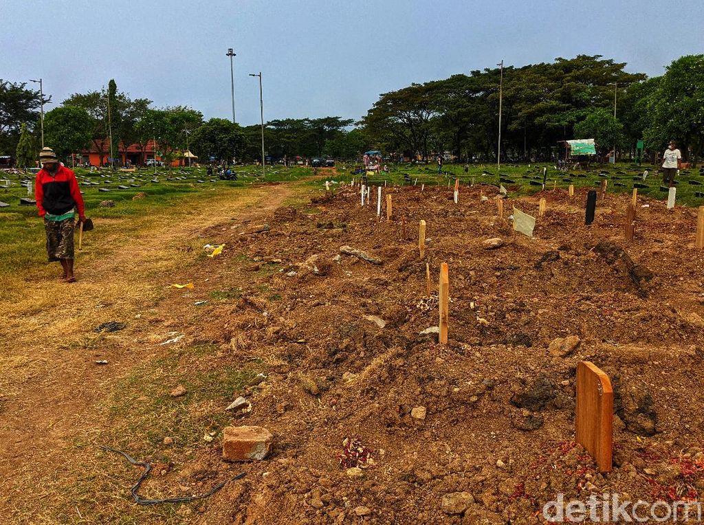 Penampakan Pembangunan Krematorium Gratis Buat Warga di TPU Tegal Alur
