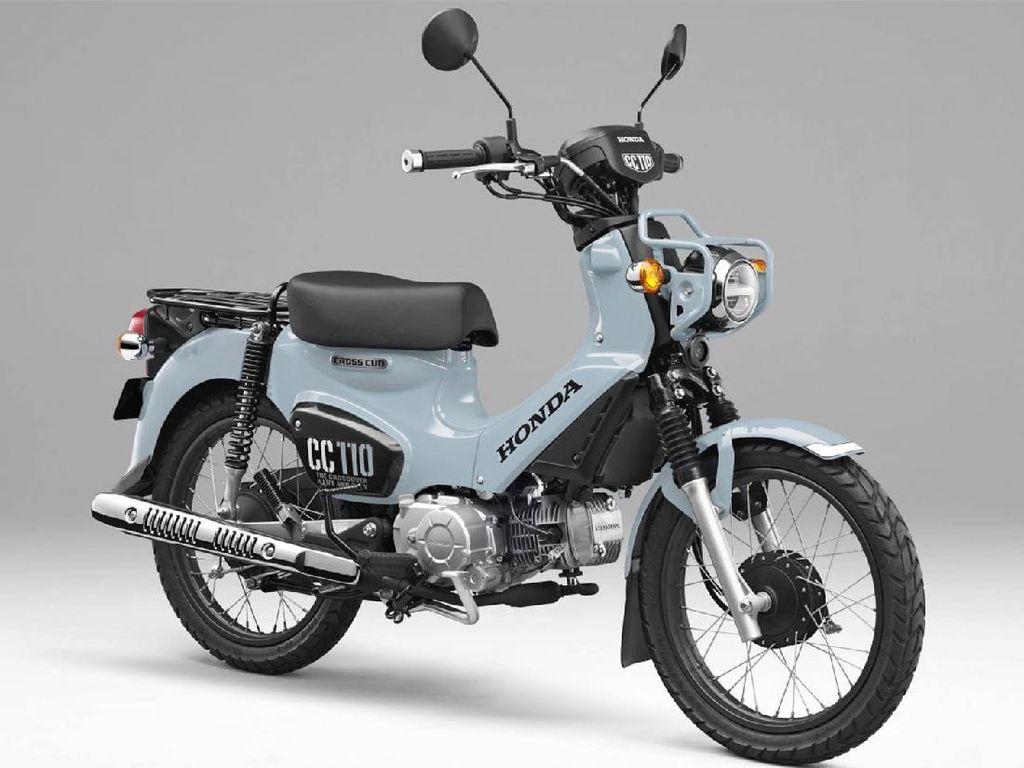 Puko Blue CC 110, Motor Bebek Imut-imut Honda Seharga Rp 44 Juta
