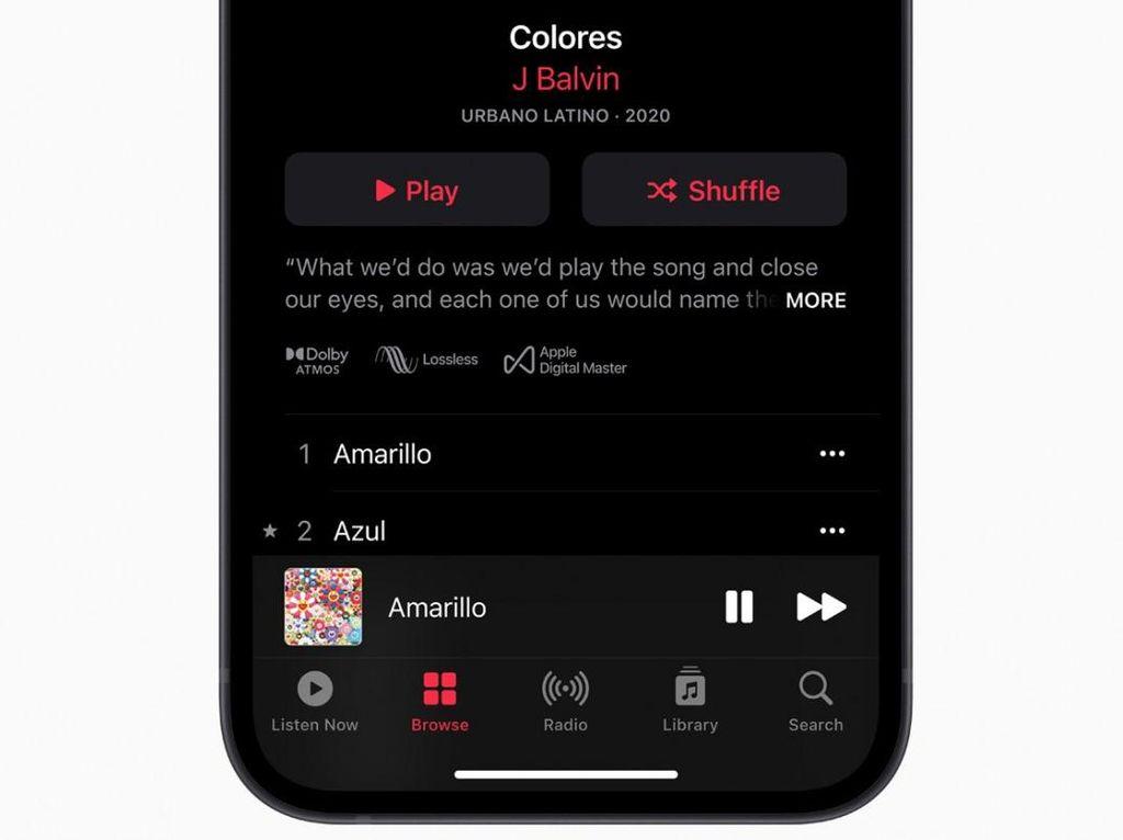 Apple Music Lossless dan Spatial Audio Hadir di Android, tapi...