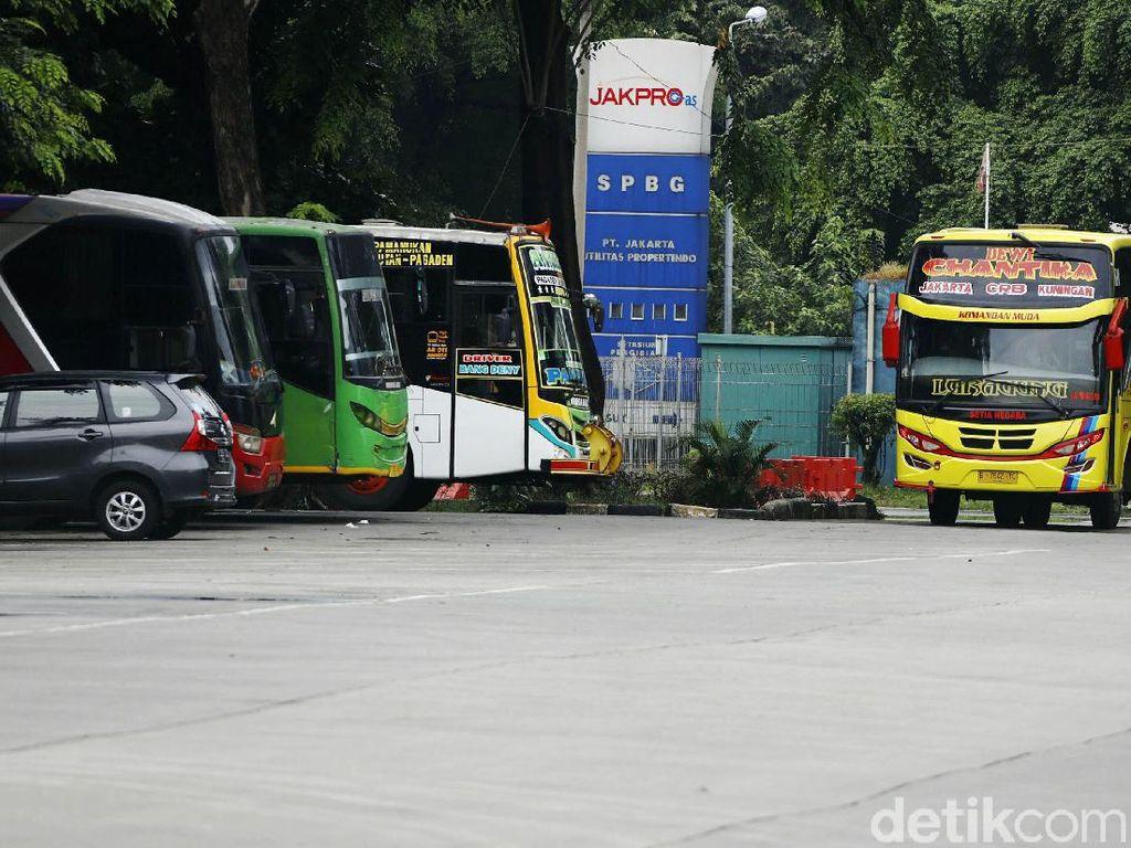 Usai Larangan Mudik, Penumpang Bus AKAP Keluar DKI Naik 2.000 Persen!