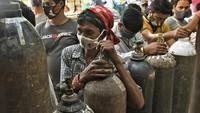 Corona India Lampaui 25 Juta Kasus! Kematian Rekor Lagi