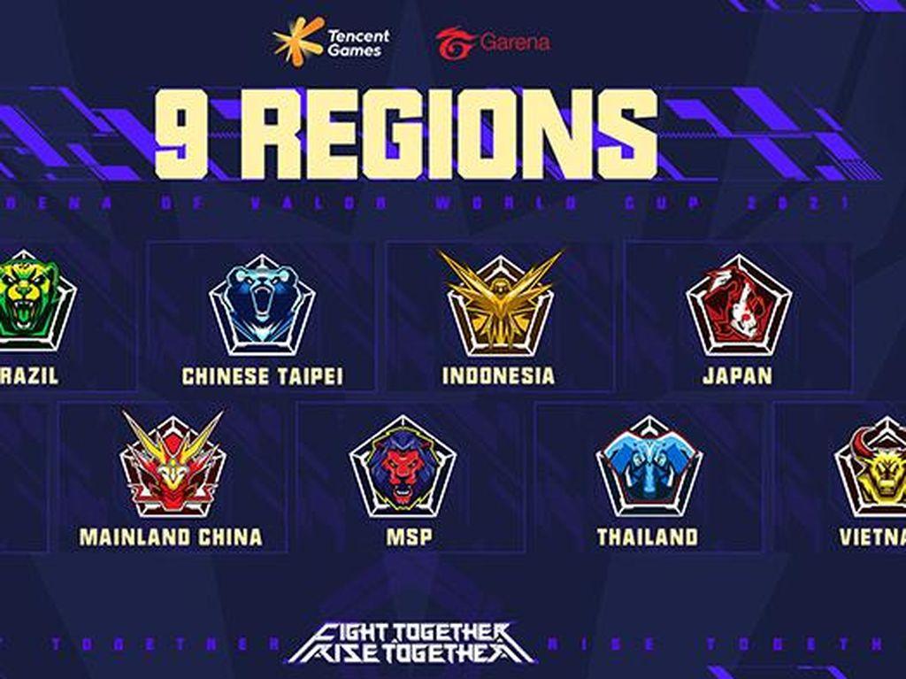 2 Tim Esports Siap Harumkan Nama Indonesia di AOV World Cup 2021
