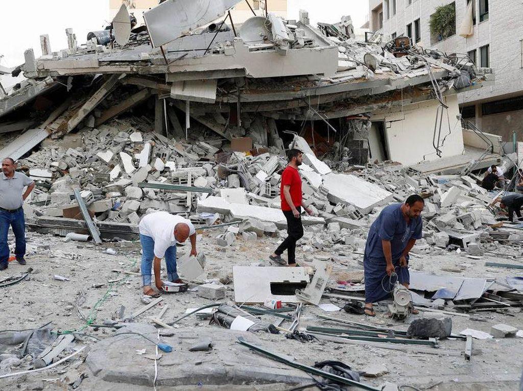 Israel-Palestina Gencatan Senjata, Kantor Pemerintahan di Gaza Kembali Buka