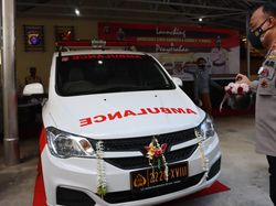 Siaga Karhutla&COVID-19, Polda Kalteng Luncurkan Ambulans-GeNose