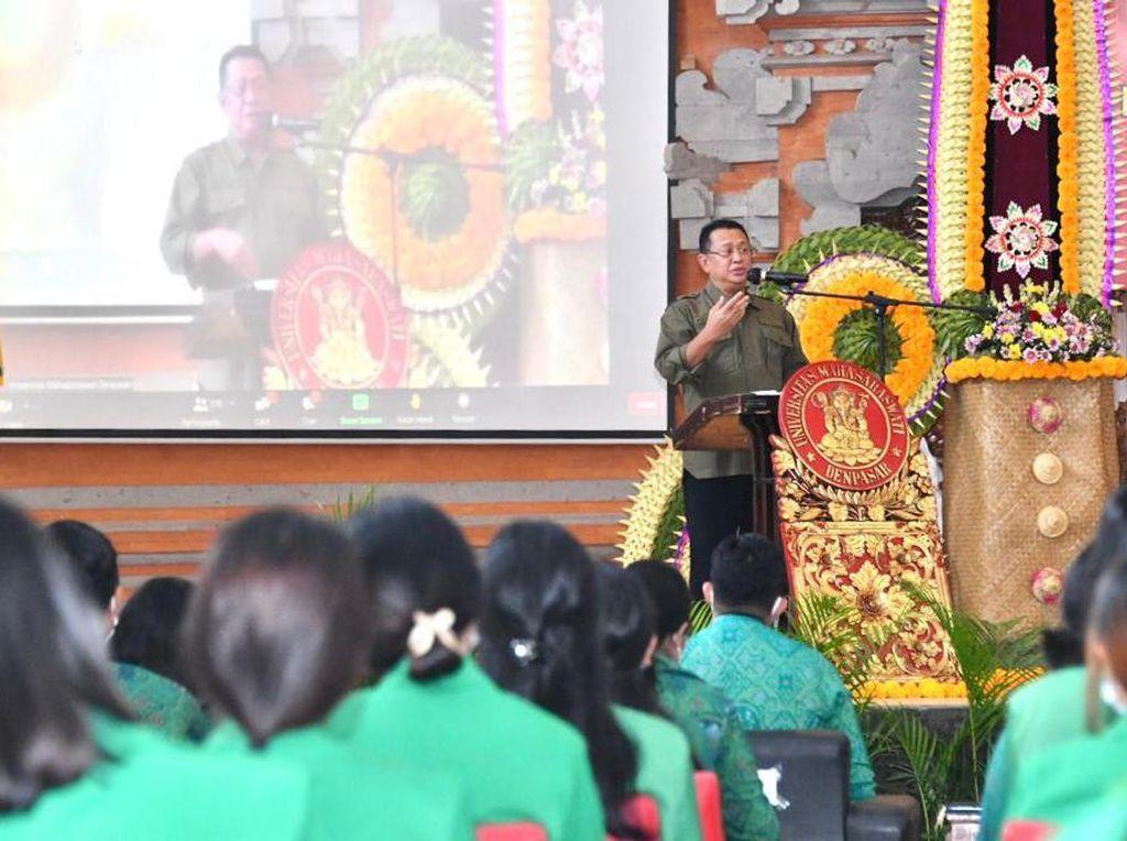 MPR Dapat Dukungan Universitas di Bali Susun dan Tetapkan PPHN
