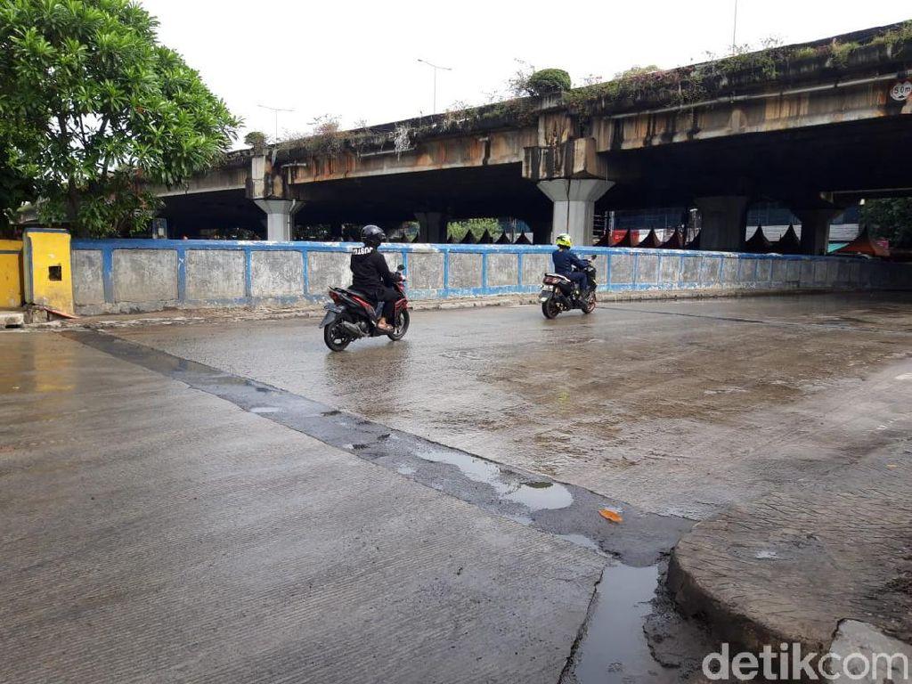 Diguyur Hujan Semalam, Kolam Jl Martadinata Ancol Efektif Cegah Banjir?