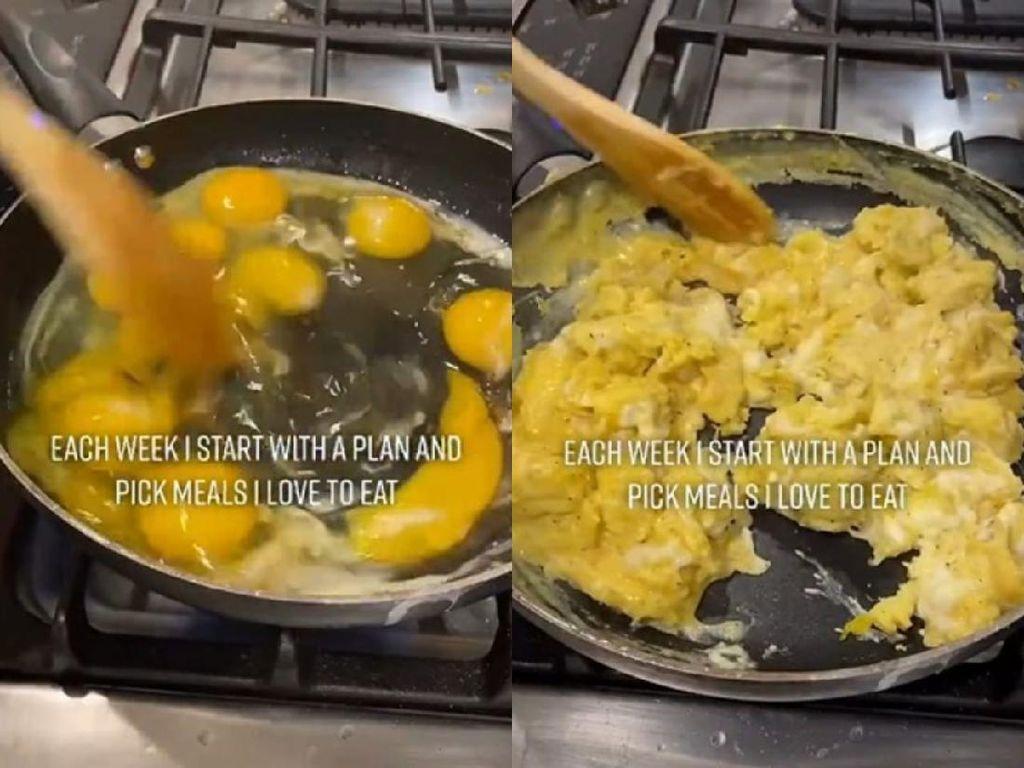 Siapkan Telur Orak-arik Buat Seminggu Agar Hemat, Wanita Ini Kena Hujat!