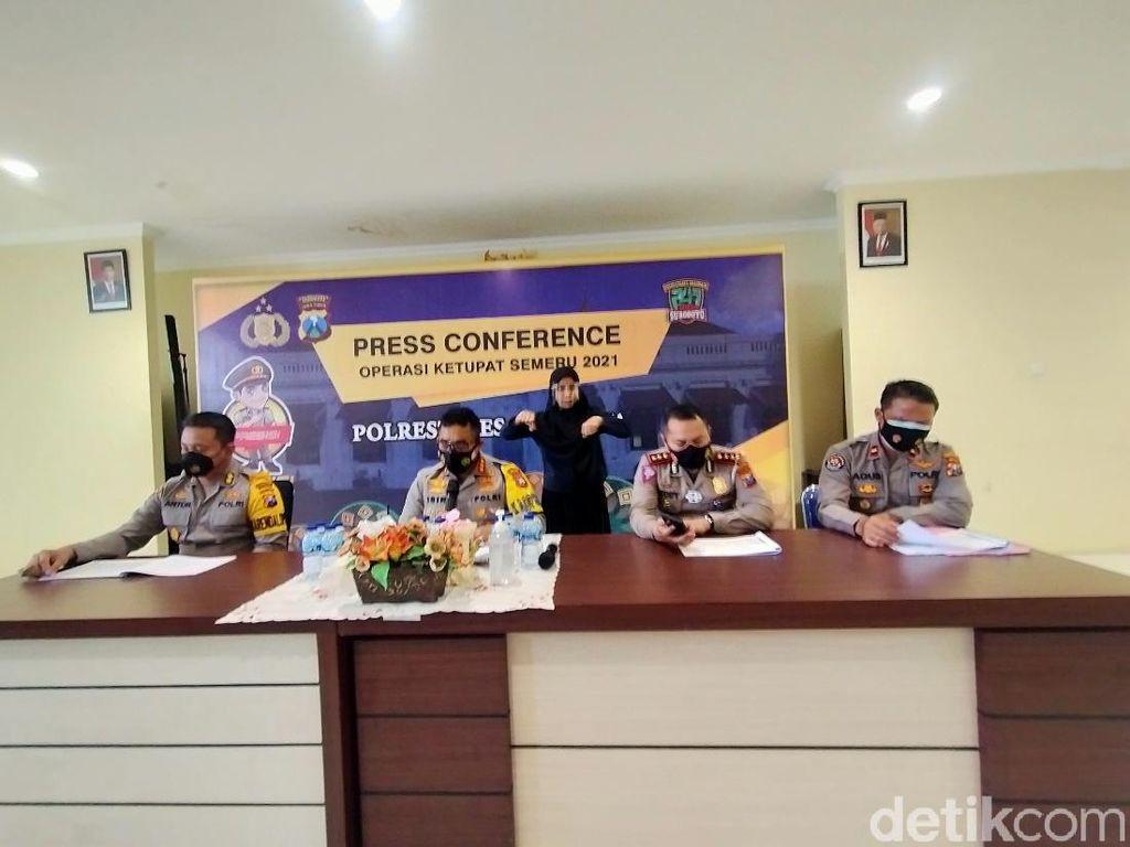 Pelanggaran Lalu Lintas di Surabaya Naik Selama Operasi Ketupat Semeru 2021