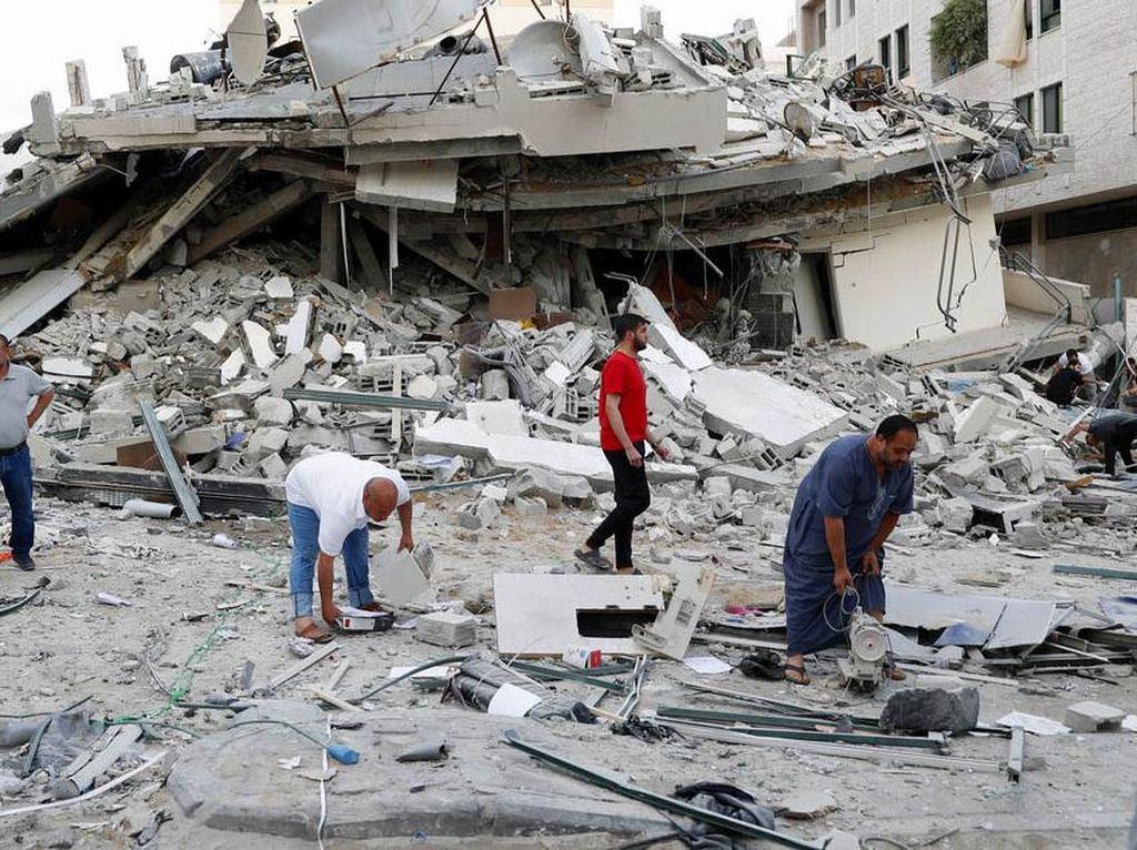AS Serukan Israel-Palestina Lindungi Anak-anak, Minta Hamas Setop Serangan
