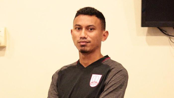 Pemain baru Persis Solo Rivaldi Bawuo.