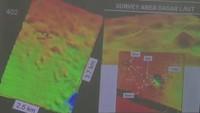 Gambaran Posisi Kawah Misterius dengan Haluan-Anjungan KRI Nanggala-402