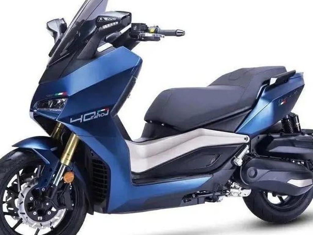 Tairong TR 400 Trailblazer: Skutik 400 cc, Bertampang Ducati Panigale