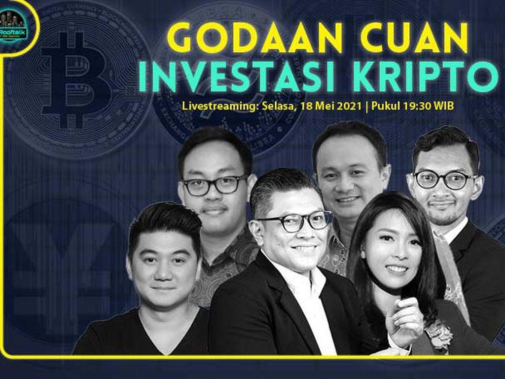 dRooftalk: Godaan Cuan Investasi Kripto