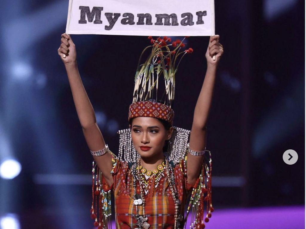 Takut Pulang, Miss Universe Myanmar Mengungsi dan Kerja Jadi Model di AS
