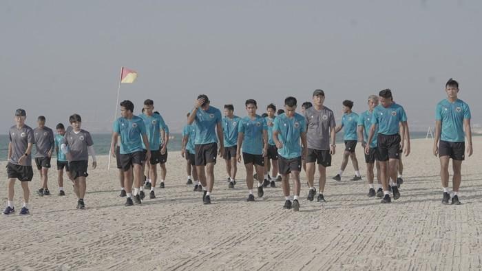 Timnas Indonesia Latihan di Dubai