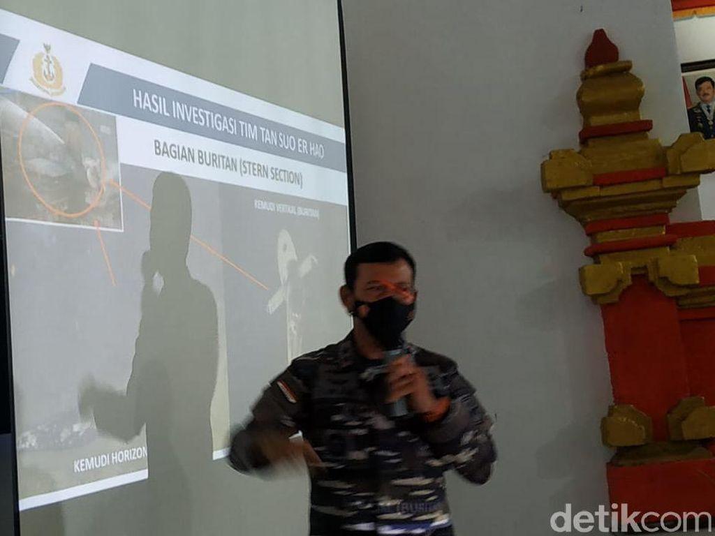 TNI Bicara Kemungkinan Jasad Kru KRI Nanggala-402 Ada di Pressure Hull