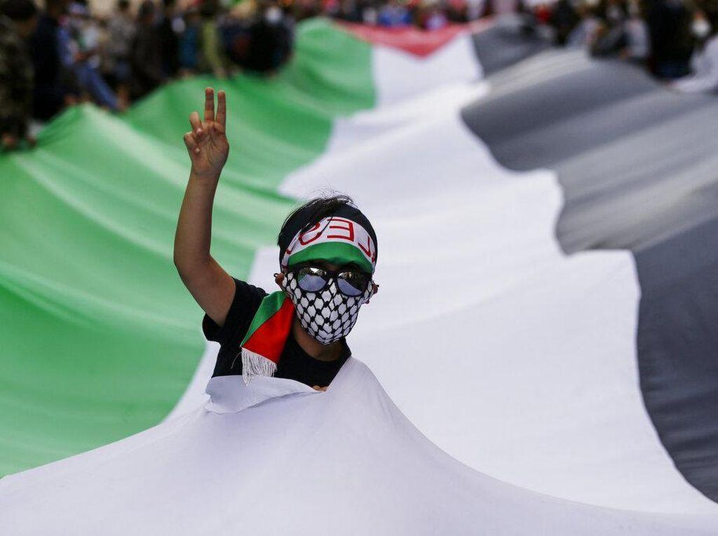 Aksi Kecam Kebringasan Israel di Sejumlah Negara