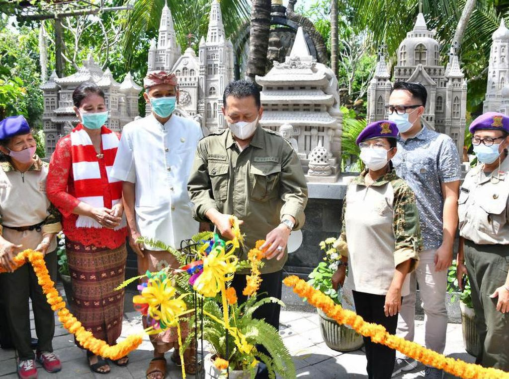 Bamsoet Resmikan Simbol Rumah Ibadah dan Patung Rama Krishna di Bali